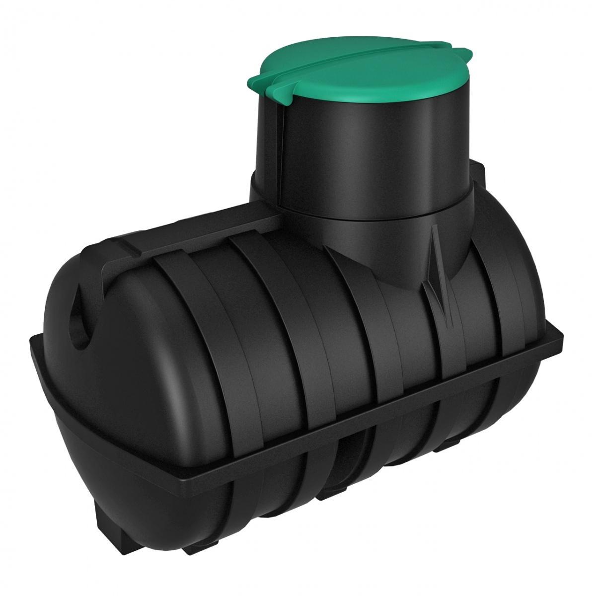 Емкость подземная U 3000 oil черный