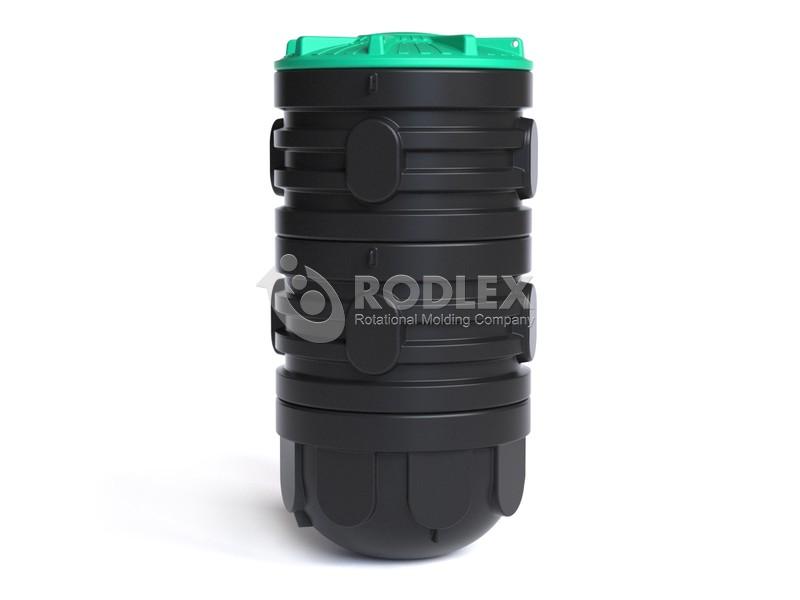 Колодец для насоса сборный Rodlex R1/2000 с крышкой