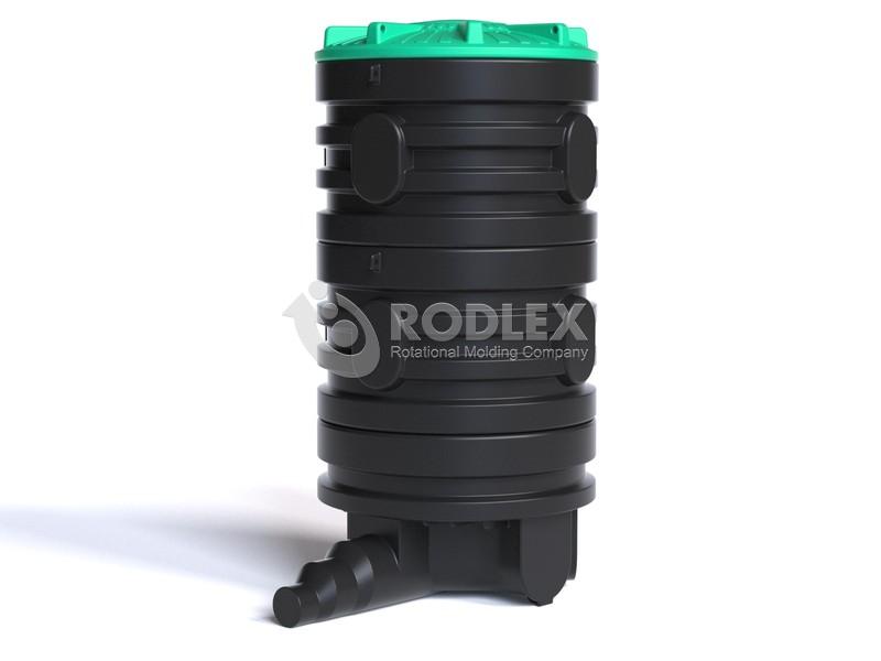 Колодец канализационный распределительный Rodlex R2/2000 с крышкой