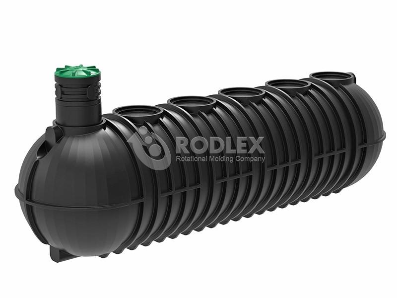 Накопительная пластиковая емкость для канализации